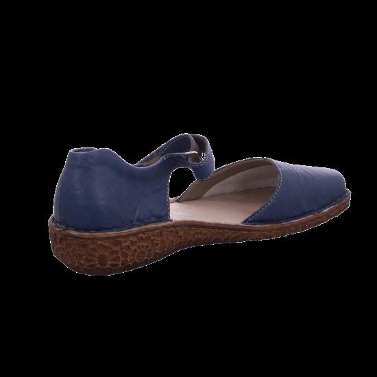 Rieker Damen Sandale Sandalette Sommerschuhe blau M0969 13