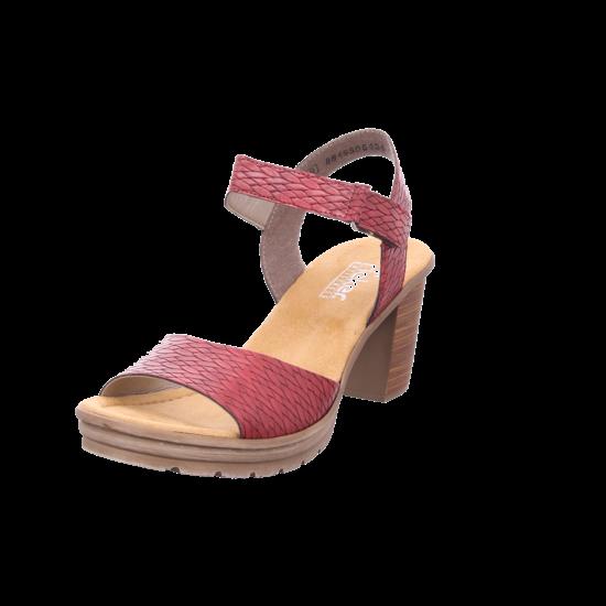 Rieker Damen Sandalette rot V1589 35