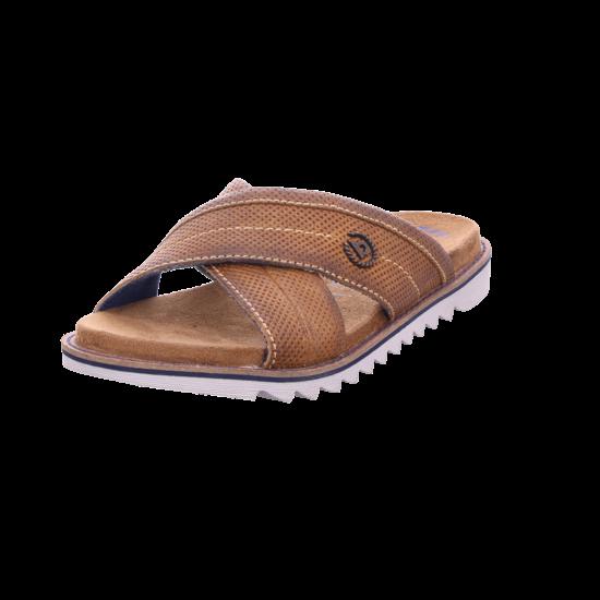 Bugatti Herren Pantolette Sandalen Hausschuhe braun 311739823200 6300