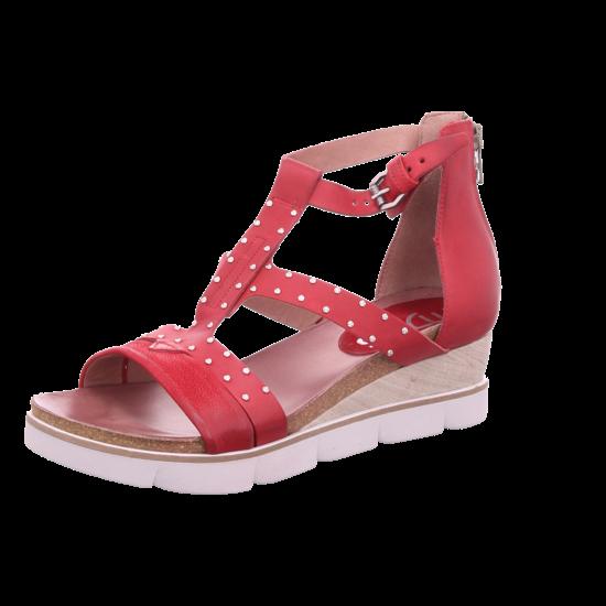 Mjus Porpora Damen Sandale Sandalette Sommerschuhe rot 866007 0301 6077