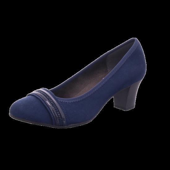 Jana Woms Court Shoe Damen Pump blau 8 8 22474 23805 805