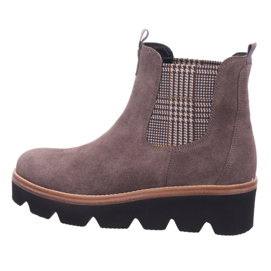 Gabor Damen Stiefel Stiefelette Boots elegant grau 34.720.12