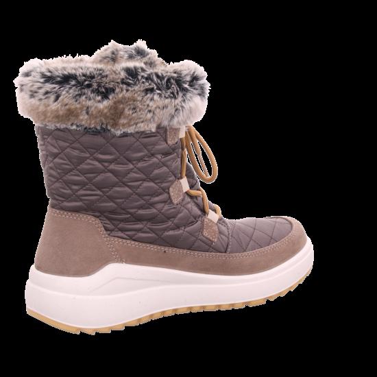 Vista Damen Stiefel Boots Tex wasserdicht warm braun 32 06305
