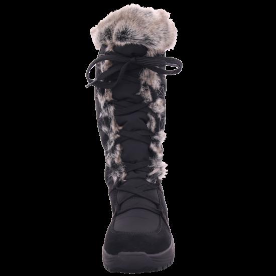 Vista Damen Stiefel Boots Tex wasserdicht warm schwarz 53 81005