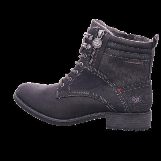 Schwarz Dockers Boots Schnürer 35iz331 Schnüren 680 Stiefelette Damen Stiefel Zum u5lFcT1J3K