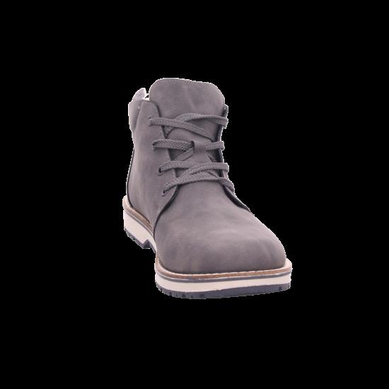 Rieker 3921145 392 Herren Stiefel Schnürstiefel warm sportlich Boots grau 39211 45