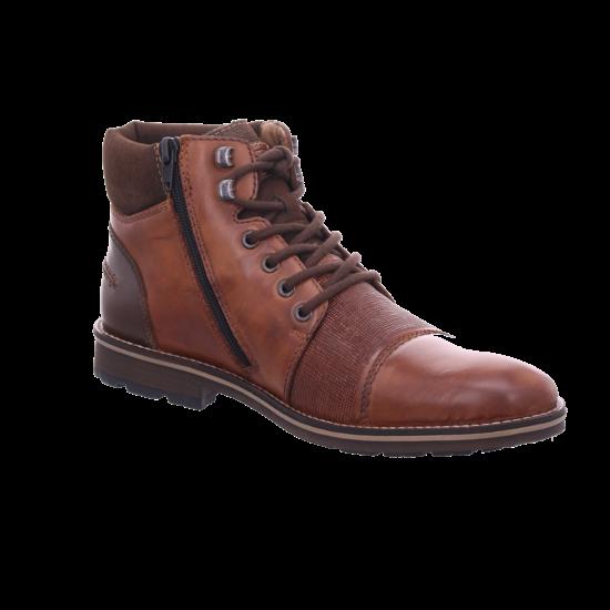 Rieker F553227 F55 Herren Stiefel Schnürstiefel warm sportlich Boots braun F5532 27