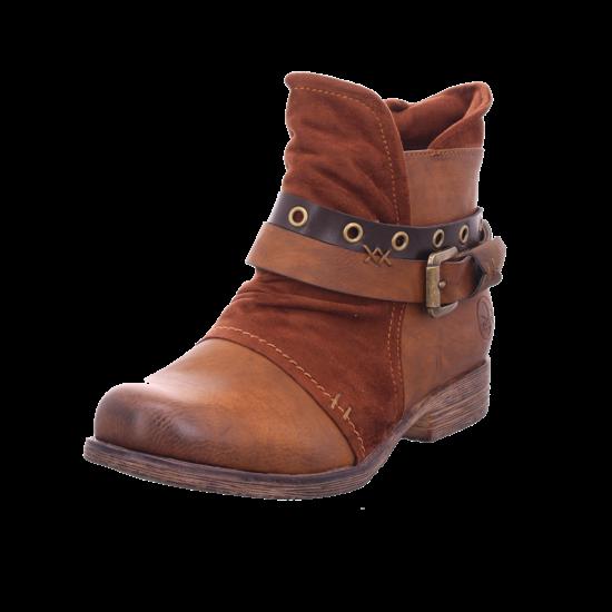 Rieker Damen Stiefel Stiefelette Boots elegant braun 90268 22