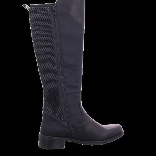 Rieker Z739200 Z73 Damen Stiefel lang Overknees Boots Langschaft schwarz Z7392 00