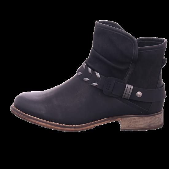 Rieker 9777000 977 Damen Stiefel Stiefelette Boots elegant schwarz 97770 00