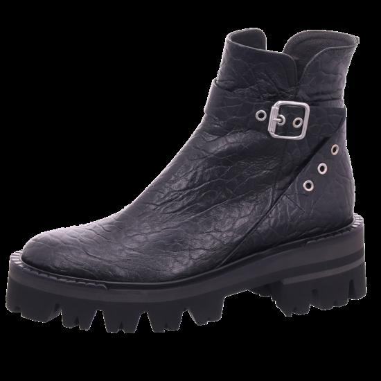 Zinda Damen Stiefel Stiefelette Boots elegant schwarz 4464873