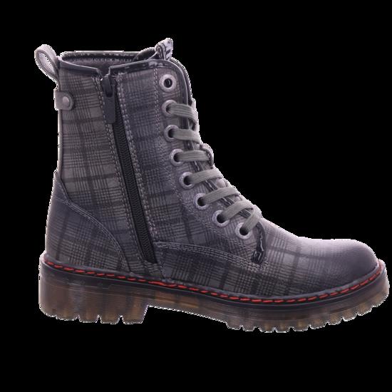Mustang Damen Winter Stiefel Boots Stiefelette warm Schnürer grau 1235505 20