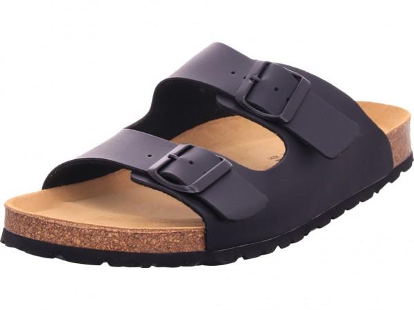 Canadian John Weichtritt Herren Pantolette Sandalen Hausschuhe schwarz 0014