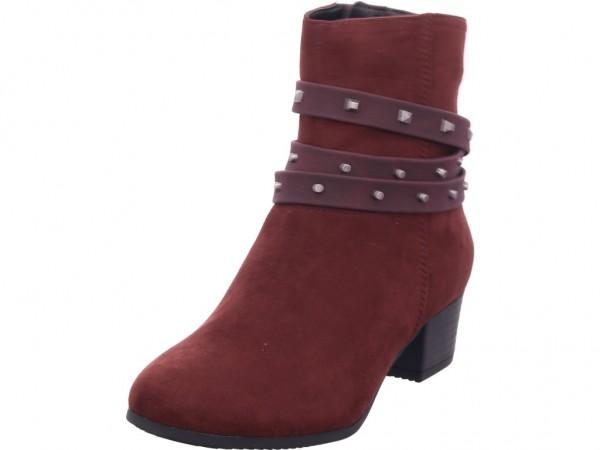 Jana Woms Boots Damen Stiefelette rot 8-8-25375-23/549-549