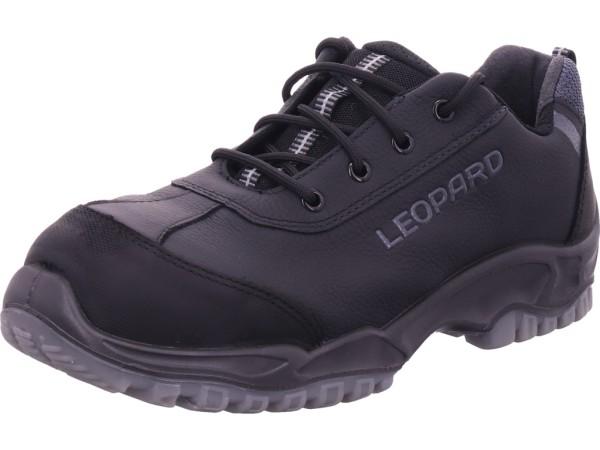 Leopard Sicherheitshalbschuh Gel S3 Unisex - Erwachsene Arbeitsschuhe Sicherheitsschuhe schwarz 01427