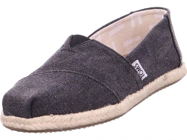 TOMS Damen Textilschuhe schwarz 10009751