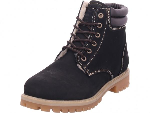 Mustang Herren Stiefel Schnürstiefel warm sportlich Boots schwarz 4875603-63