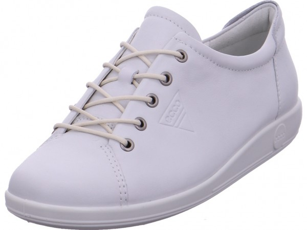 ecco 206503/01007 Damen Sneaker weiß 206503/01007