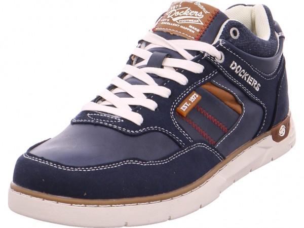 Dockers Schnürschuh Halbschuh sportlich Sneaker blau 42IS002777600
