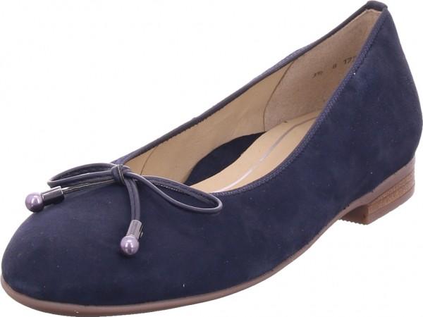 ara SARDINIA Damen Ballerina blau 12-31324-13