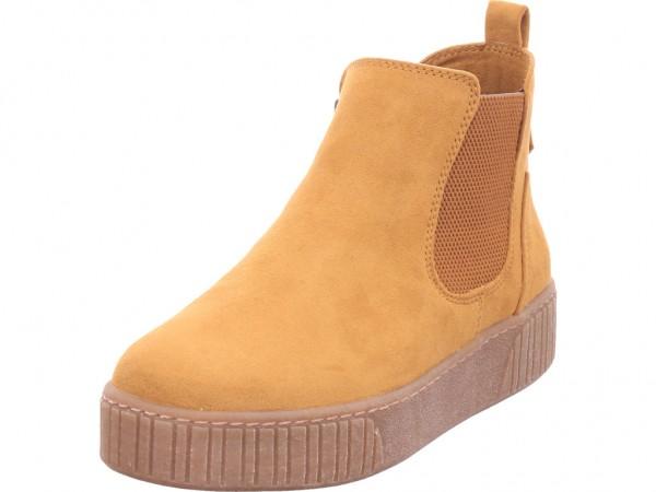 Marco Tozzi Da.-Stiefel Damen Stiefel Stiefelette Boots elegant rot 2-2-25454-35/611-611