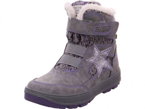 Bild 1 - s.Oliver Kids Boots Mädchen grau