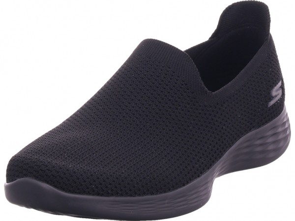 SKECHERS Damen Slipper schwarz 14956 BBK