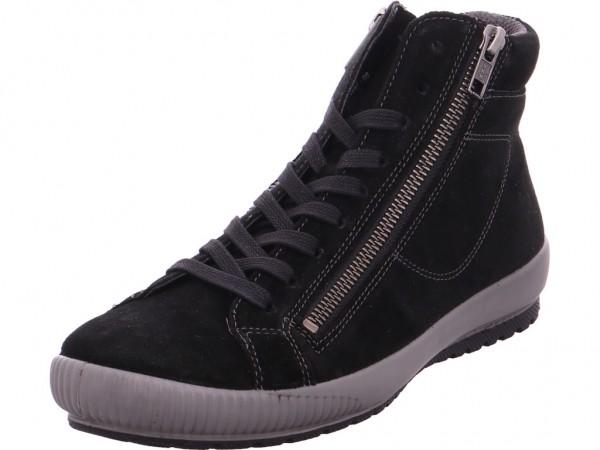 Legero Damen Stiefel Schnürer Boots Stiefelette zum schnüren schwarz 3-00825-00