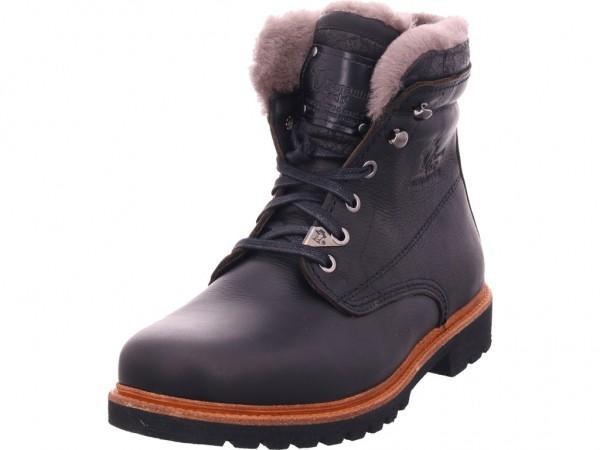 Panama Jack Herren Stiefel Schnürstiefel warm sportlich Boots schwarz Panama 03 Aviator Igloo C11
