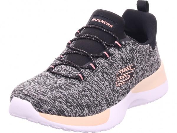 SKECHERS Damen Sneaker schwarz 12991-BKCL