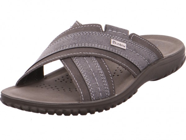 Quick-Schuh Pantolett. Sp-Boden Herren Pantolette Sandalen Hausschuhe grau 1000300/2