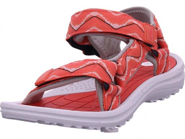 hengst Damen Sandale Sandalette Sommerschuhe rot S30501.351