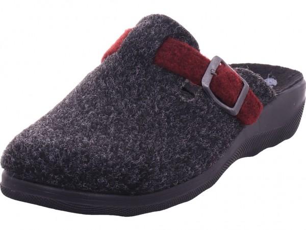 BOLD Damen Pantolette Sandalen Hausschuhe grau CA32FD03