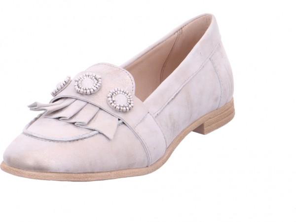 Mjus Damen Sneaker Slipper Ballerina sportlich zum schlüpfen weiß 716114-0101-6371