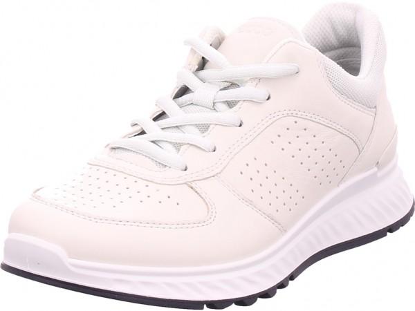 ecco Damen Halbschuh Sneaker Sport Schnürer zum schnüren weiß 835313/01152