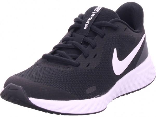 Nike NOS Nike Revolution 5 Big Kids Damen Sneaker schwarz BQ5671