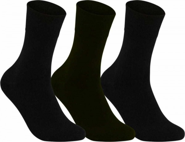 Riese Super XXL Herrenstrumpf 50/52 Herren Socken schwarz 31041