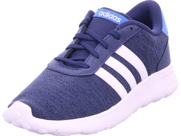 Adidas LITE RACER K,DKBLUE/FTWWHT/TRU Damen Sneaker blau F35529