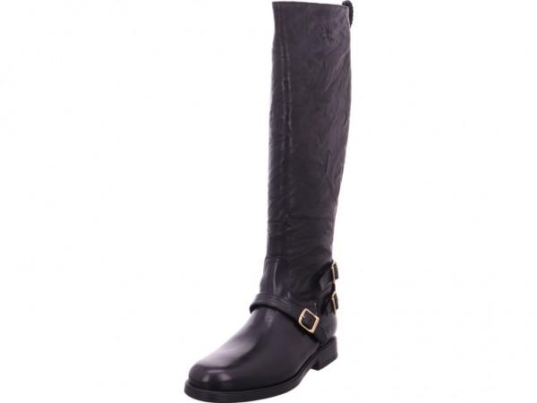 La Martina Damen Stiefel schwarz L6183253