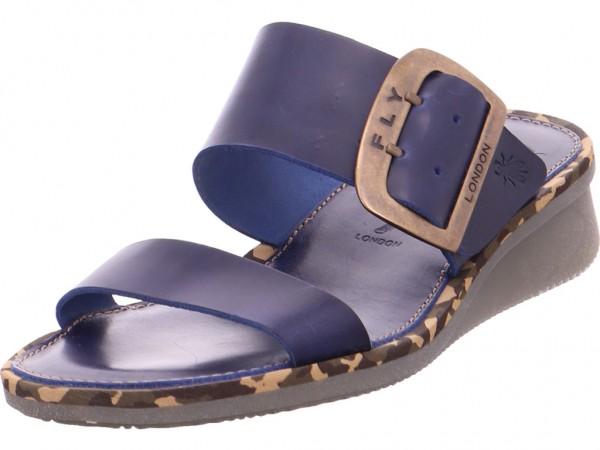 Fly London Cape Damen Sandale Sandalette Sommerschuhe blau 144205007