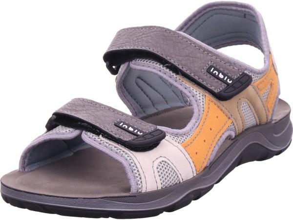 inblu Herren Sandale Sandalette Trekking grau TO093C02