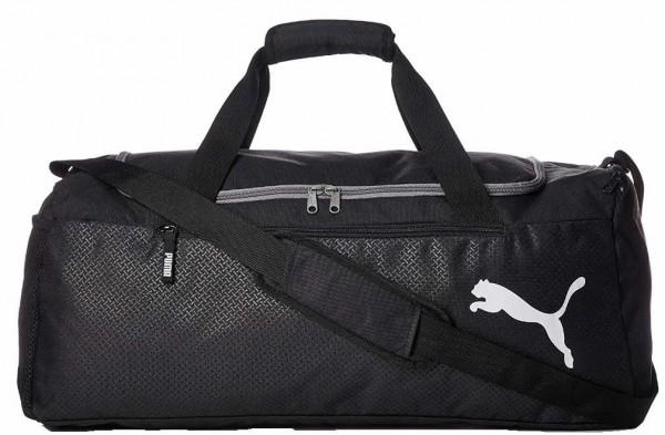 Puma Fundamentals Sports Bag M Unisex - Erwachsene Tasche schwarz 75528/001