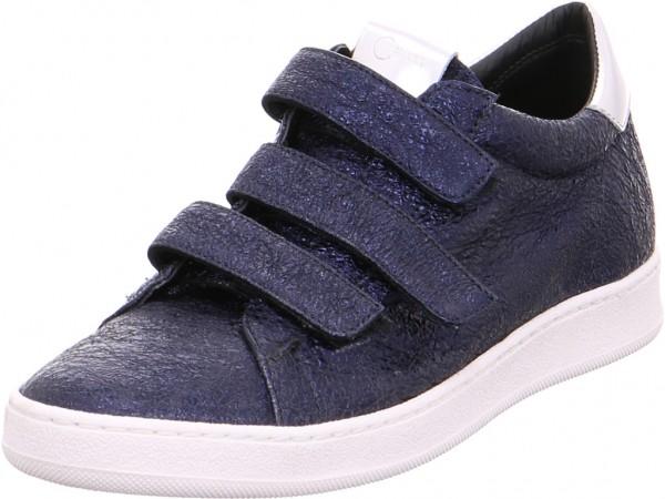 Donna Carolina Damen Sneaker Slipper Ballerina sportlich zum schlüpfen blau 33434081