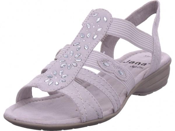 Jana Woms Sandals Damen Sandale Sandalette Sommerschuhe grau 8-8-28163-22/101-101