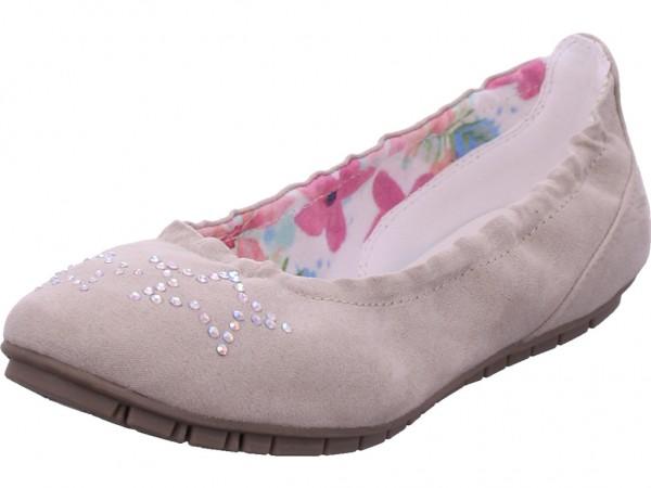 s.Oliver Kids Ballerinas Mädchen Ballerina beige 5-5-42401-22/223-223