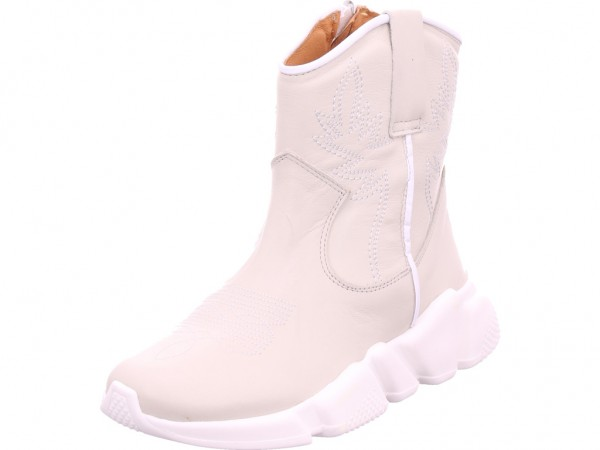 Humat napa nielo Damen Stiefel Stiefelette Boots elegant grau 2-121