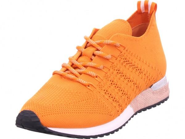 La Strada Damen Halbschuh Sneaker Sport Schnürer zum schnüren orange 1802649