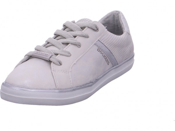 Dockers Damen Halbschuh Sneaker Sport Schnürer zum schnüren grau 40AA214680260