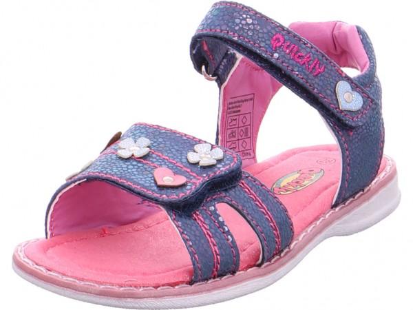 Quick-Schuh Sandaletten-Mädchen Mädchen Sandale Sandalette Sommerschuhe blau 4830509