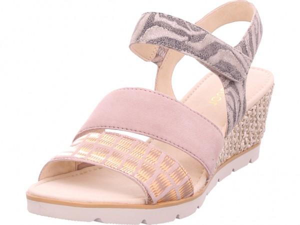 Gabor Damen Sandale Sandalette Sommerschuhe rot 25.752.34
